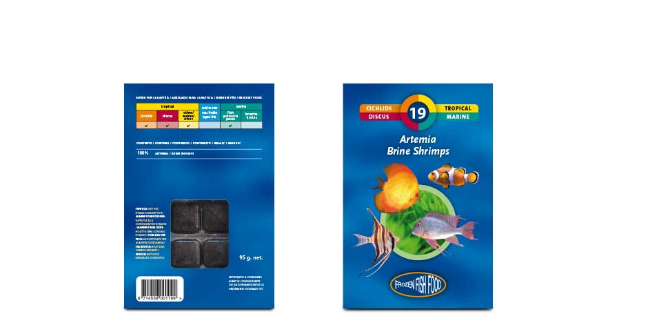 Product lines frozen fish food for Frozen fish food